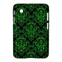 Damask1 Black Marble & Green Colored Pencil Samsung Galaxy Tab 2 (7 ) P3100 Hardshell Case