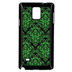 Damask1 Black Marble & Green Colored Pencil Samsung Galaxy Note 4 Case (black)