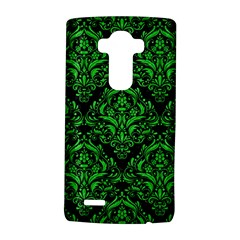 Damask1 Black Marble & Green Colored Pencil Lg G4 Hardshell Case