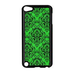 Damask1 Black Marble & Green Colored Pencil (r) Apple Ipod Touch 5 Case (black)
