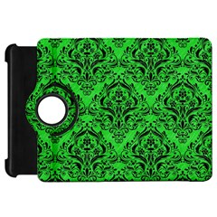 Damask1 Black Marble & Green Colored Pencil (r) Kindle Fire Hd 7