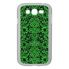 Damask2 Black Marble & Green Colored Pencil Samsung Galaxy Grand Duos I9082 Case (white)
