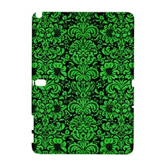 Damask2 Black Marble & Green Colored Pencil Galaxy Note 1
