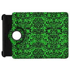Damask2 Black Marble & Green Colored Pencil (r) Kindle Fire Hd 7