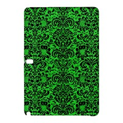Damask2 Black Marble & Green Colored Pencil (r) Samsung Galaxy Tab Pro 12 2 Hardshell Case