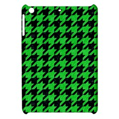 Houndstooth1 Black Marble & Green Colored Pencil Apple Ipad Mini Hardshell Case