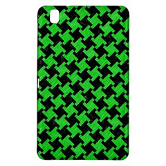 Houndstooth2 Black Marble & Green Colored Pencil Samsung Galaxy Tab Pro 8 4 Hardshell Case