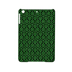 Hexagon1 Black Marble & Green Colored Pencil Ipad Mini 2 Hardshell Cases