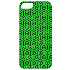 Hexagon1 Black Marble & Green Colored Pencil (r) Apple Iphone 5 Classic Hardshell Case