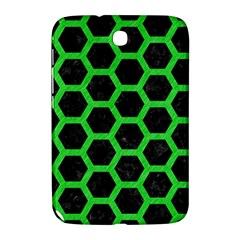 Hexagon2 Black Marble & Green Colored Pencil Samsung Galaxy Note 8 0 N5100 Hardshell Case