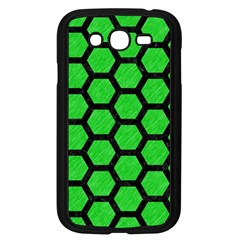 Hexagon2 Black Marble & Green Colored Pencil (r) Samsung Galaxy Grand Duos I9082 Case (black)