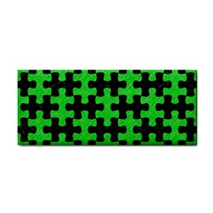 Puzzle1 Black Marble & Green Colored Pencil Cosmetic Storage Cases