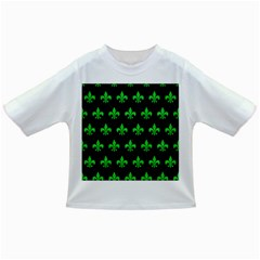 Royal1 Black Marble & Green Colored Pencil (r) Infant/toddler T Shirts