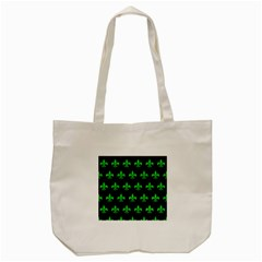 Royal1 Black Marble & Green Colored Pencil (r) Tote Bag (cream)