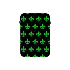 Royal1 Black Marble & Green Colored Pencil (r) Apple Ipad Mini Protective Soft Cases