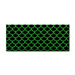 Scales1 Black Marble & Green Colored Pencil Cosmetic Storage Cases