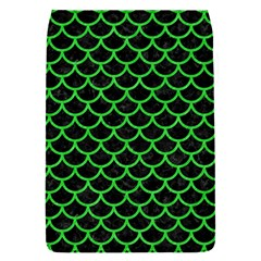 Scales1 Black Marble & Green Colored Pencil Flap Covers (s)