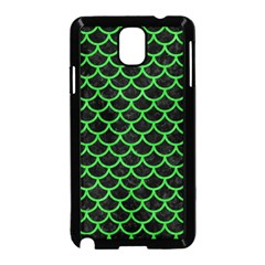 Scales1 Black Marble & Green Colored Pencil Samsung Galaxy Note 3 Neo Hardshell Case (black)