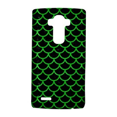 Scales1 Black Marble & Green Colored Pencil Lg G4 Hardshell Case