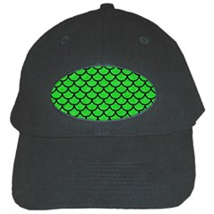 Scales1 Black Marble & Green Colored Pencil (r) Black Cap