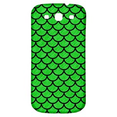 Scales1 Black Marble & Green Colored Pencil (r) Samsung Galaxy S3 S Iii Classic Hardshell Back Case