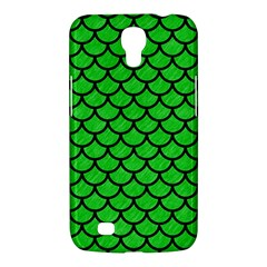 Scales1 Black Marble & Green Colored Pencil (r) Samsung Galaxy Mega 6 3  I9200 Hardshell Case