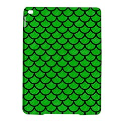 Scales1 Black Marble & Green Colored Pencil (r) Ipad Air 2 Hardshell Cases