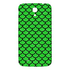 Scales1 Black Marble & Green Colored Pencil (r) Samsung Galaxy Mega I9200 Hardshell Back Case