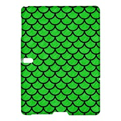 Scales1 Black Marble & Green Colored Pencil (r) Samsung Galaxy Tab S (10 5 ) Hardshell Case