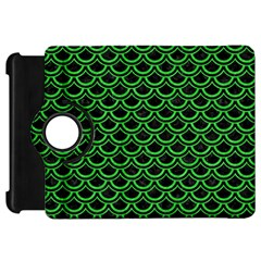 Scales2 Black Marble & Green Colored Pencil Kindle Fire Hd 7
