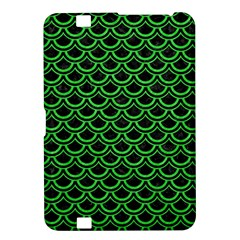 Scales2 Black Marble & Green Colored Pencil Kindle Fire Hd 8 9