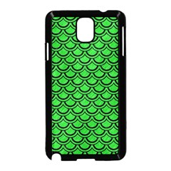 Scales2 Black Marble & Green Colored Pencil (r) Samsung Galaxy Note 3 Neo Hardshell Case (black)