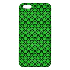 Scales2 Black Marble & Green Colored Pencil (r) Iphone 6 Plus/6s Plus Tpu Case