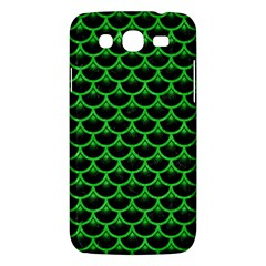 Scales3 Black Marble & Green Colored Pencil Samsung Galaxy Mega 5 8 I9152 Hardshell Case