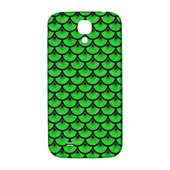 Scales3 Black Marble & Green Colored Pencil (r) Samsung Galaxy S4 I9500/i9505  Hardshell Back Case
