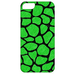 Skin1 Black Marble & Green Colored Pencil Apple Iphone 5 Classic Hardshell Case