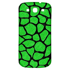 Skin1 Black Marble & Green Colored Pencil Samsung Galaxy S3 S Iii Classic Hardshell Back Case