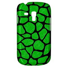 Skin1 Black Marble & Green Colored Pencil Galaxy S3 Mini