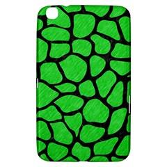 Skin1 Black Marble & Green Colored Pencil Samsung Galaxy Tab 3 (8 ) T3100 Hardshell Case