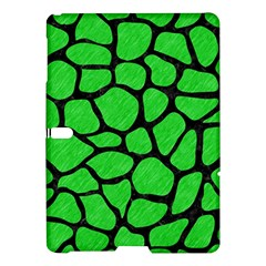 Skin1 Black Marble & Green Colored Pencil Samsung Galaxy Tab S (10 5 ) Hardshell Case