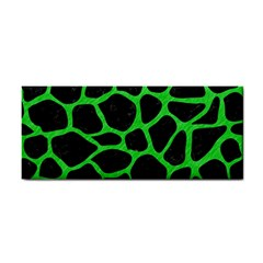 Skin1 Black Marble & Green Colored Pencil (r) Cosmetic Storage Cases
