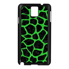Skin1 Black Marble & Green Colored Pencil (r) Samsung Galaxy Note 3 N9005 Case (black)