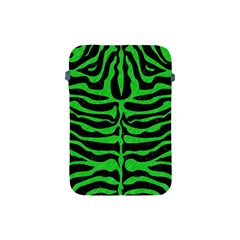 Skin2 Black Marble & Green Colored Pencil Apple Ipad Mini Protective Soft Cases