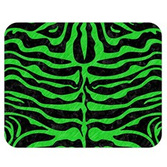 Skin2 Black Marble & Green Colored Pencil Double Sided Flano Blanket (medium)