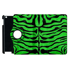 Skin2 Black Marble & Green Colored Pencil (r) Apple Ipad 3/4 Flip 360 Case
