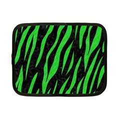 Skin3 Black Marble & Green Colored Pencil Netbook Case (small)