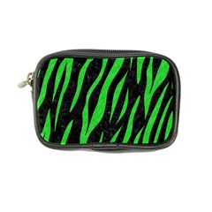 Skin3 Black Marble & Green Colored Pencil Coin Purse