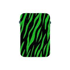 Skin3 Black Marble & Green Colored Pencil Apple Ipad Mini Protective Soft Cases