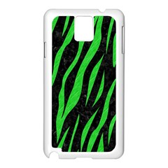 Skin3 Black Marble & Green Colored Pencil Samsung Galaxy Note 3 N9005 Case (white)
