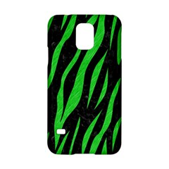 Skin3 Black Marble & Green Colored Pencil Samsung Galaxy S5 Hardshell Case